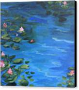 The Lily Pond II  Canvas Print
