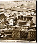 The Linc - Aerial View Canvas Print