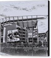 The Linc - Philadelphia Eagles Canvas Print by Bill Cannon