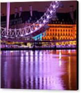 The London Eye Canvas Print by Donald Davis