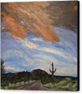 The Lonely Road Canvas Print
