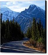 The Long And Winding Road Canvas Print by Larry Ricker