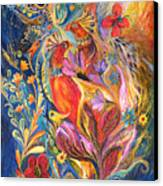The Love Story II Canvas Print by Elena Kotliarker