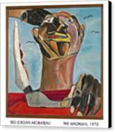 The Madman Canvas Print