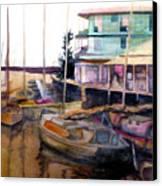 The Marina Canvas Print