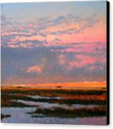 The Marsh  Canvas Print by Gary Gowans