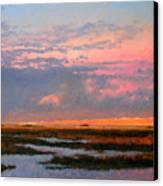 The Marsh  Canvas Print by Gary Gowans