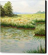 The Marshes Canvas Print