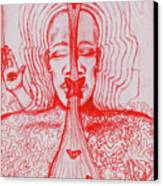 The Minds Eye Canvas Print