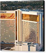 The Mirage Hotel Canvas Print by Andy Smy