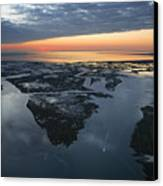 The Mississippi River Gulf Outlet Canvas Print by Tyrone Turner