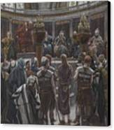 The Morning Judgement Canvas Print by Tissot