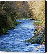 The Nestucca River Canvas Print by Margaret Hood