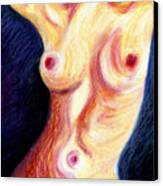 The Nude Number Three Canvas Print