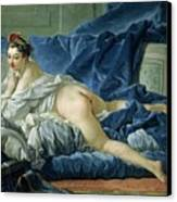 The Odalisque Canvas Print by Francois Boucher