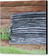 The Old Porch Swing Canvas Print