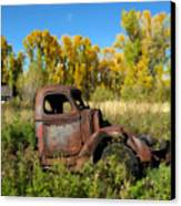 The Old Truck  Chama New Mexico Canvas Print