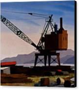 The Oldcrane Canvas Print