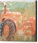 The Ol'e Allis Chalmers Canvas Print by Ron Bowles