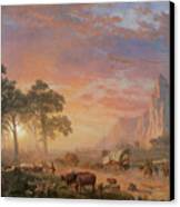 The Oregon Trail Canvas Print