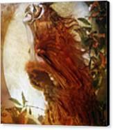 The Owl Canvas Print by Mary Hood