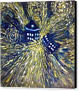 The Pandorica Opens Canvas Print by Alizey Khan