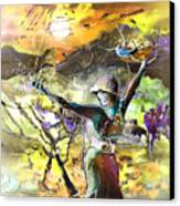 The Parable Of The Sower Canvas Print