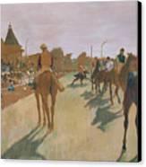 The Parade Canvas Print