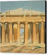 The Parthenon Canvas Print by Louis Dupre