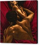 The Passion Canvas Print by Richard Young