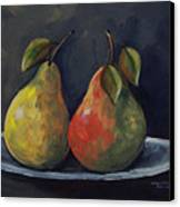 The Pears  Canvas Print
