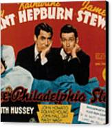 The Philadelphia Story, Katharine Canvas Print