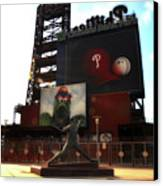 The Phillies - Steve Carlton Canvas Print by Bill Cannon