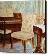The Piano Room Canvas Print