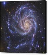 The Pinwheel Galaxy, Also Known As Ngc Canvas Print
