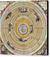 The Planisphere Of Ptolemy, Harmonia Canvas Print by Science Source