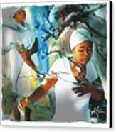 The Prayer Tree Haiti Canvas Print