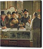 The Public Bar Canvas Print