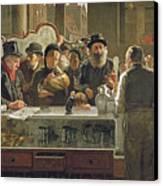 The Public Bar Canvas Print by John Henry Henshall