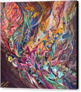 The Purple Stream Canvas Print