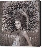 The Ravenous Pregnancy Canvas Print