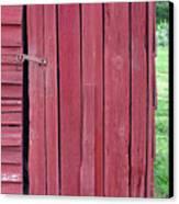 The Red Door Canvas Print by Tina B Hamilton