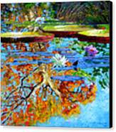 The Reflections Of Fall Canvas Print