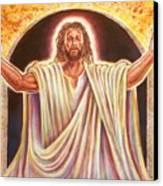 The Resurrection And The Life Canvas Print