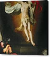 The Resurrection Of Christ Canvas Print by Bartolome Esteban Murillo