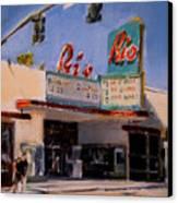 The Rio Theater Canvas Print