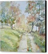The Road Home Canvas Print by Dorothy Herron