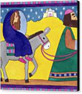 The Road To Bethlehem Canvas Print
