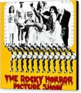 The Rocky Horror Picture Show Canvas Print by Everett
