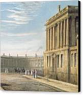 The Royal Crescent Canvas Print by David Cox
